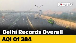 Delhi: Pollution Level Still In 'Very Poor' Category