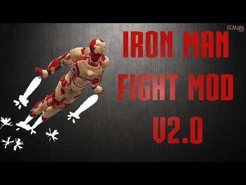 GTA San Andreas : Iron Man Flight Mod V 2.0