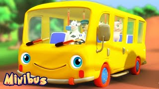 The Wheels on The Bus 🚌 Songs for Kids and Babies - Nursery Rhymes Videos thumbnail