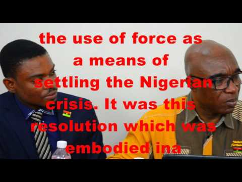 BRITISH HYPOCRISY IN NIGERIA