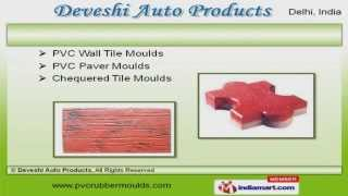 PVC Moulds, Chian Guides & Oil Seals by Deveshi Auto Products, New Delhi Video