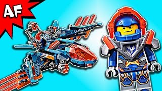 Lego Nexo Knights Clay's FALCON FIGHTER Blaster 70351 Speed Build