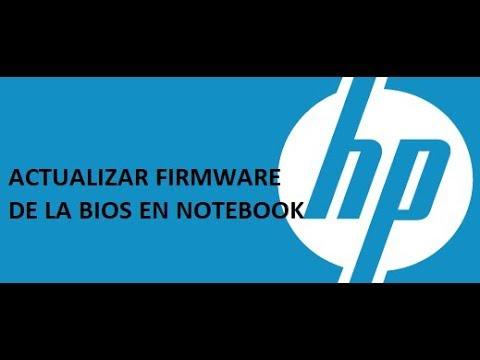 Como Actualizar BIOS en Notebook HP para solucionar errores con el Hardware