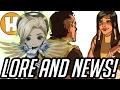 Overwatch News - Pharah's Father in Lore, Nendoroid Mercy/Figma Genji! | Hammeh