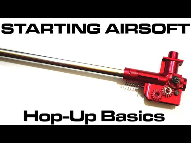 Starting Airsoft - Hop Up Basics (How a Hop Up Works: Beginners Guide)