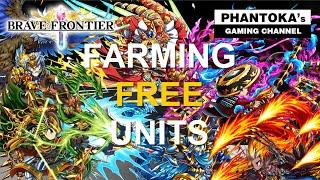 Brave Frontier [EU,GL,JAP]: Farming 6 stars FREE units - Zegar|Zephu|Lario|Weiss|Luna|Mifune