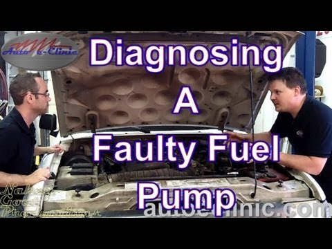 How to Diagnose a Bad Fuel Pump - No Pressure - Ford Ranger - YouTube
