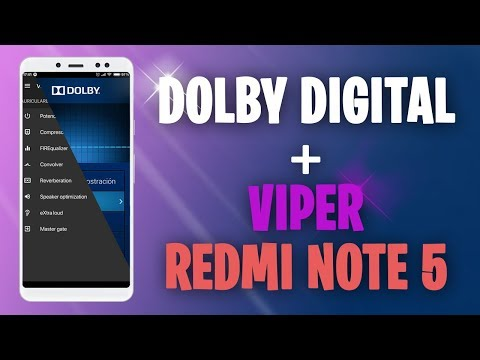 Dolby Atmos + Dolby Digital Plus + Viper4Android Fx+ Sony