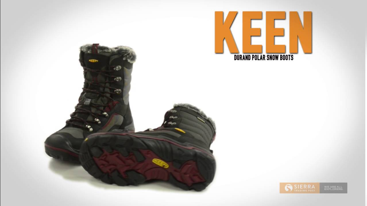 Keen Durand Polar Snow Boots - Waterproof, Insulated, Leather (For Women)