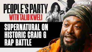Supernatural Breaks Down His Historic Craig G Rap Battle, Diddy's Involvement | People's Party Clip