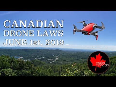 New Canadian Drone Laws Coming June 1st, 2019