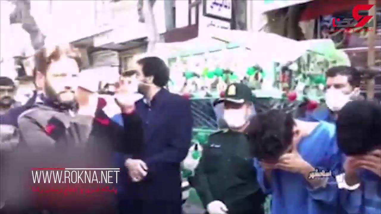 این هم فیلم بازسازی قتل فرشاد (جوان موبایل فروش) در اسلامشهر