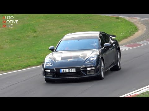 Hear this loud, potentially hotter Porsche Panamera Turbo
