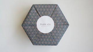 (ENG)육각형 선물 상자 포장하는 방법--gift w…