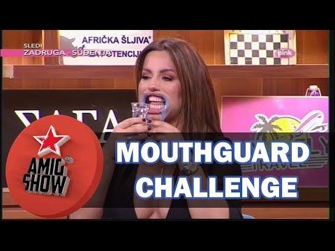 Mouthguard Challenge - E19 - Ami G Show S10