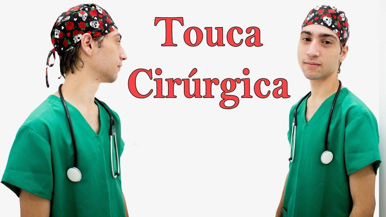 DIY  Touca Cirúrgica Masculina - Ep240 - YouTube f6845c72665