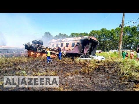 South Africa: Train crash kills 18, hundreds injured 🇿🇦