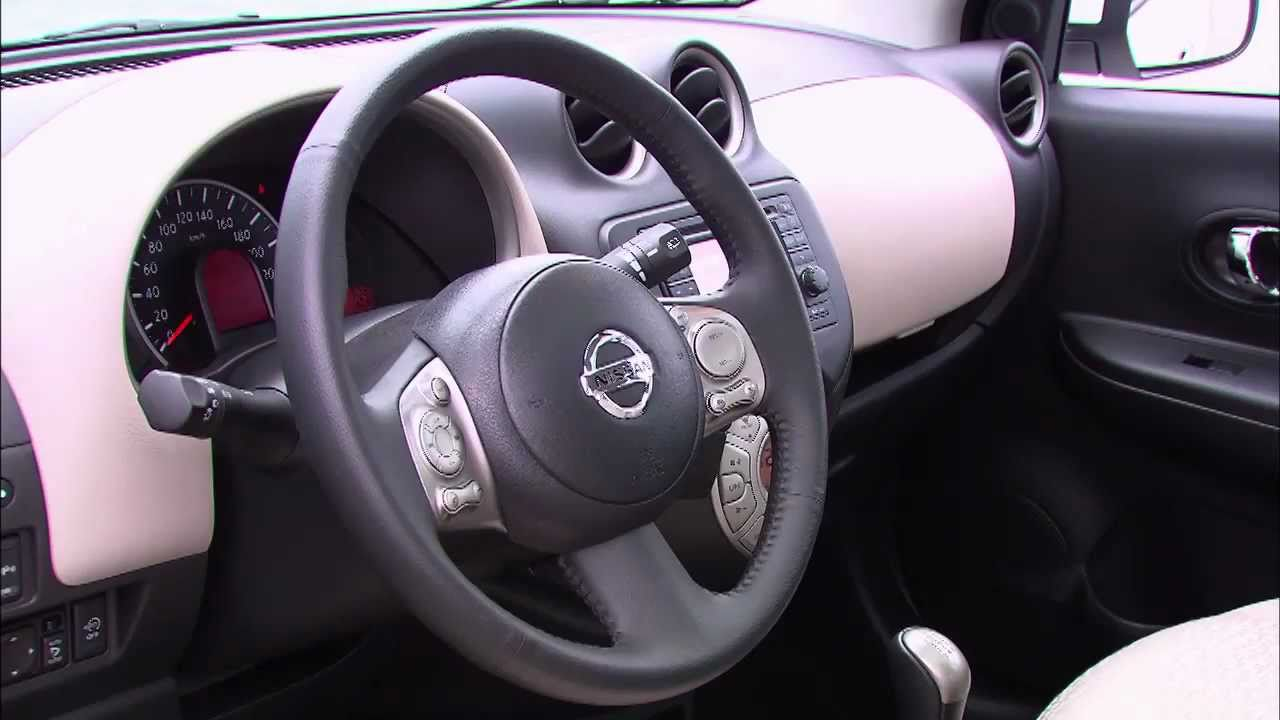 nissan micra 2012 interieur youtube. Black Bedroom Furniture Sets. Home Design Ideas
