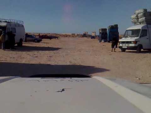 No mans land Mauritania to Western Sahara - Part 3