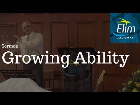 Growing Ability (Psalm 18:28-29) - Pastor Denver Michael - Cullybackey Elim Church