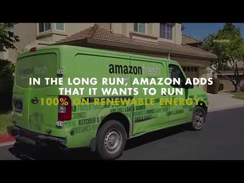Amazon Aims to Use Fully Renewable Energy For Shipping