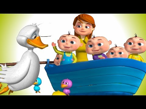 Thumbnail: Five Little Ducks And Many More | Five Little Babies Collection | Nursery Rhymes & Kids Songs
