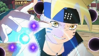 boruto unleashes six paths power vs naruto naruto shippuden ultimate ninja storm 4 road to boruto