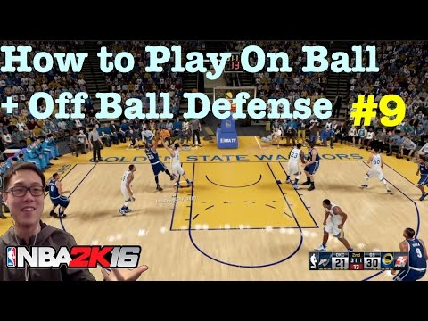 NBA 2K16 Tips How to play On Ball defense : How to defend 2K16 Tutorial #68