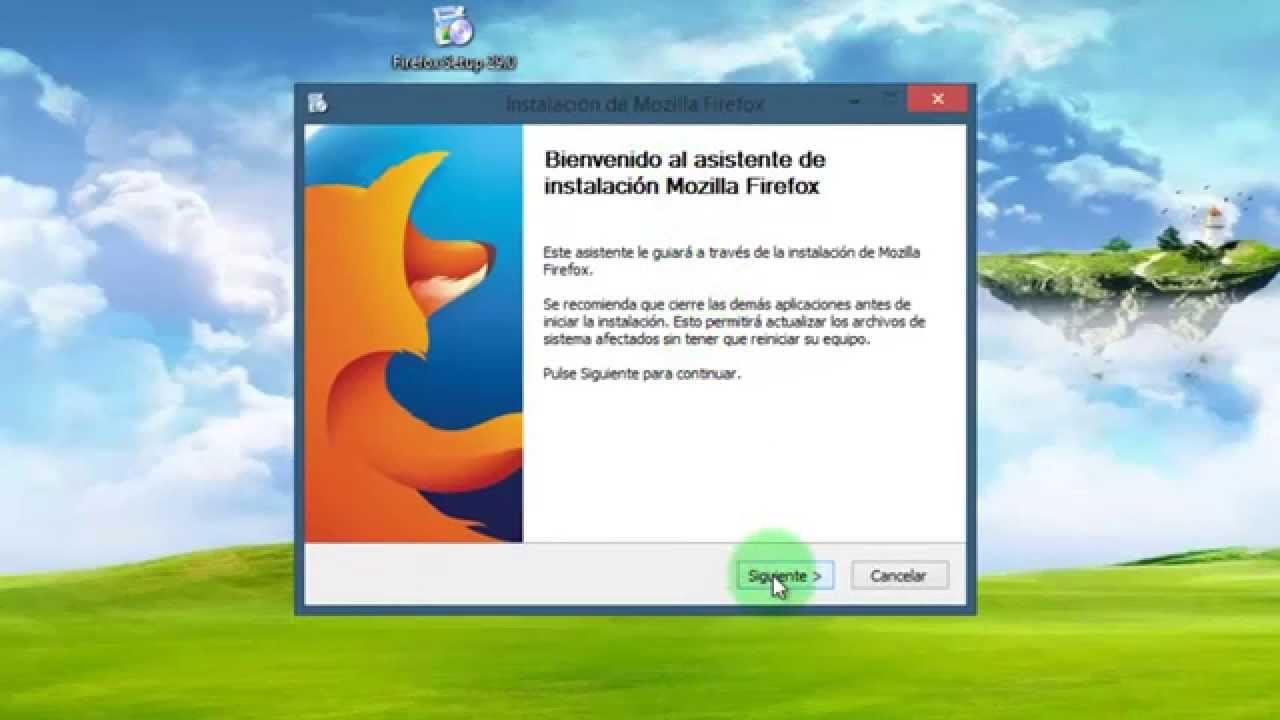 descargar mozilla firefox para windows xp gratis espanol