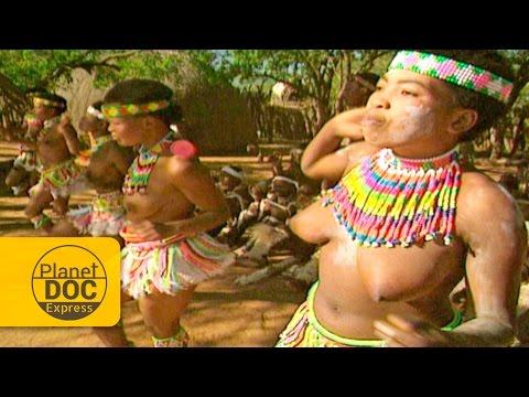 Bailes de Mujeres Zulú | Tribu Africana