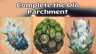 Dragons: Rise of Berk - ALL OLD PARCHMENT DRAGONS