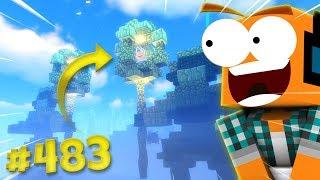 """Minecraft #483 - """"Posągi! Podwodna świątynia cz.6!"""""""