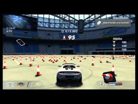 GT6 Desafio de conos 2 en ORO Lotus Elise / GT6 Challenge of cones in GOLD Gran Turismo 6