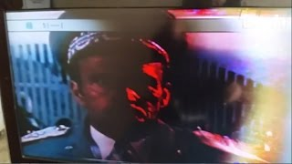 philips 37pfl4603d 10 on the left side of the screen picture ok to the right of the screen photo bad