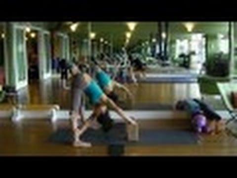 Emily Sabo's Yoga Class (1-21-2014) - Full body workout - Yin / Yang - strength + deep stretching