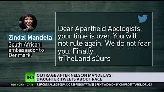 'Undiplomatic' tweet of Mandela's daughter stirs outrage