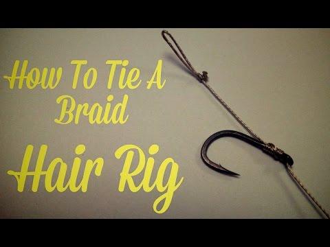 HOW TO TIE A HAIR RIG - BRAID - CARP FISHING