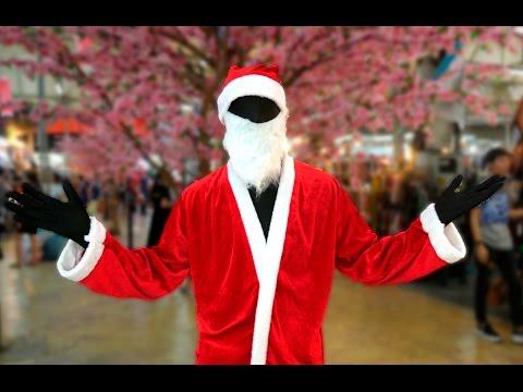 กระตุกต่อมฮา เมื่อซานต้าสะดุ้ง - ฝรั่งแกล้งคนไทย
