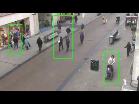 Human detection using OpenCV