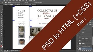 PSD to HTML (+CSS) slicing tutorial [Part 1]