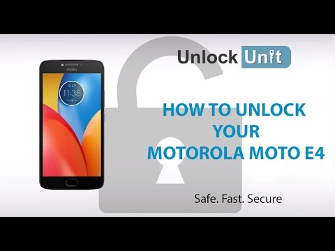How to Unlock Motorola Moto E4 using Unlock Codes | UnlockUnit