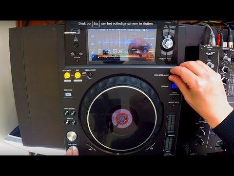 Pioneer DJ XDJ-1000MK2 DJ media player video review