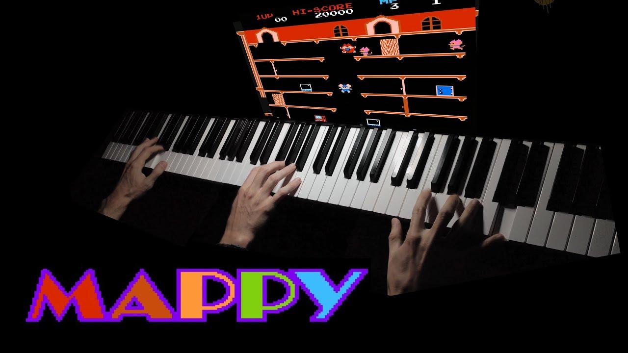 Download Mappy (NES) - Soundtrack Piano Cover