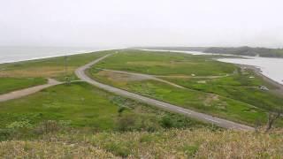 湧洞湖(ゆうどうこ)展望台 @北海道豊頃町 Lake Yudo View Spot in Toyokoro Hokkaido