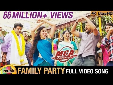 Family Party Full Video Song 4K | MCA...