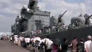 皇軍・海上自衛隊・護衛艦「くらま」in名古屋港(どえらい人やった)