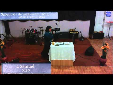 Predicacion Sabado 7 de Septiembre 2013 Pastora Jessica Silva