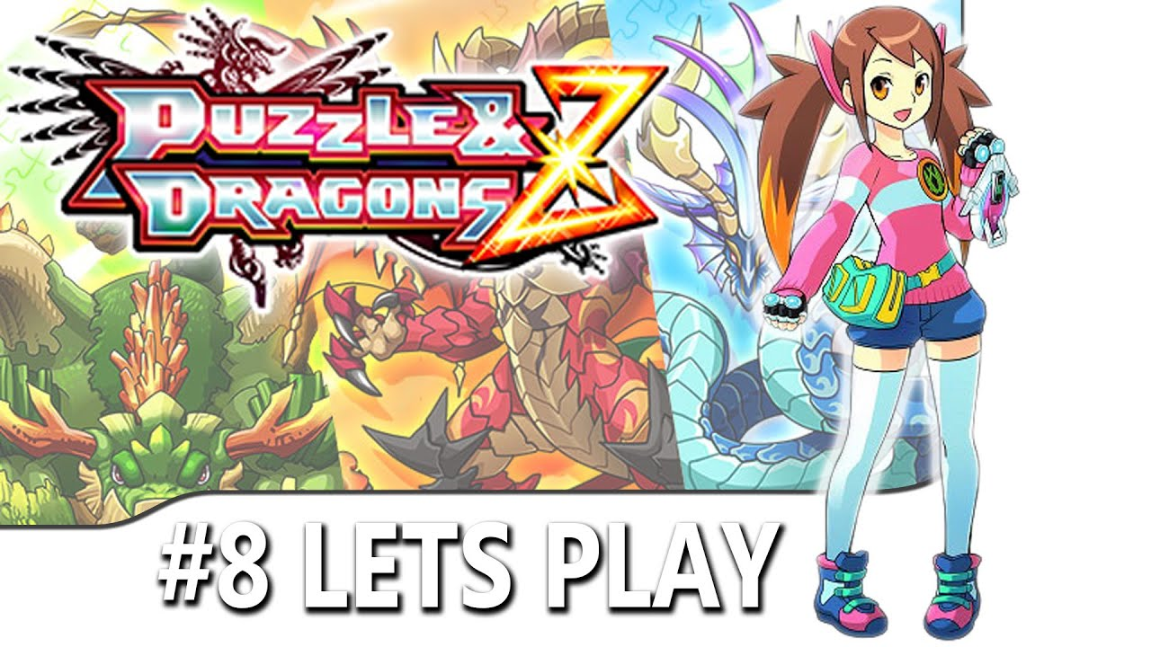 #8 DRAGON CELESTE FEU - Puzzle Dragons Z Gameplay FR HD