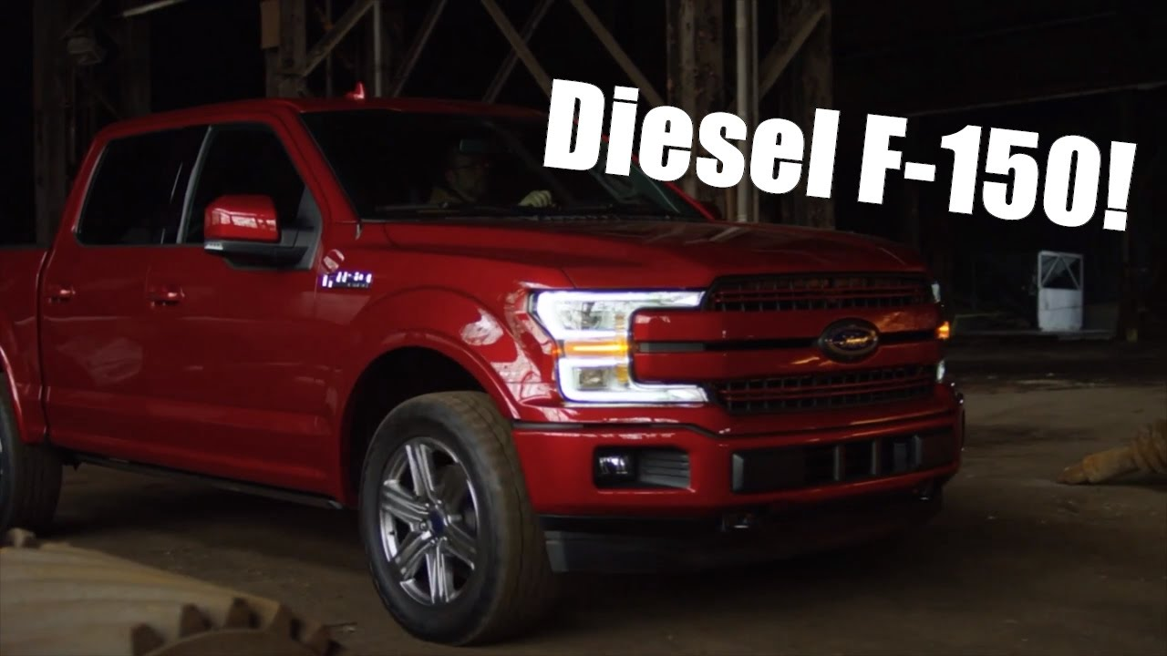 Ford F 150 Lifted >> 2018 Ford F150 Diesel! Everything you need to know! - YouTube