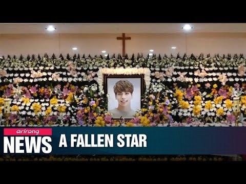 Cover Lagu K-Pop superstar Jonghyun of SHINee dies; investigators look into possible depression STAFABAND